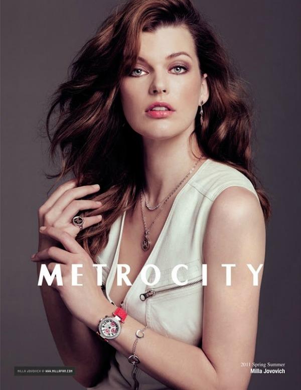 239  Milla Jovovich za Metrocity – proleće/leto 2011.