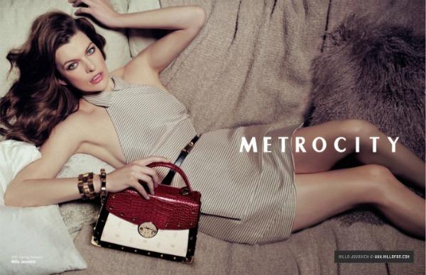 327  Milla Jovovich za Metrocity – proleće/leto 2011.