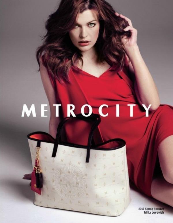 526  Milla Jovovich za Metrocity – proleće/leto 2011.