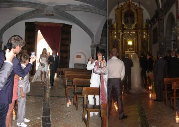 Anja Rubik Sasha Knezevic wedding church Celebrity Wedding: Anja Rubik & Saša Knežević