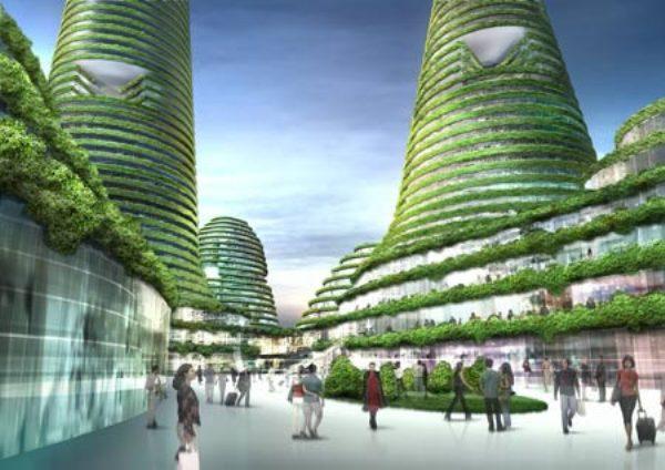 B1.1 gwanggyo city center 1 Zelena arhitektura   Arhitektura budućnosti deo 2.