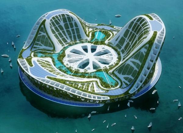 B2.1 Vincent Callebaut Lilypads 3 Small Zelena arhitektura   Arhitektura budućnosti deo 2.