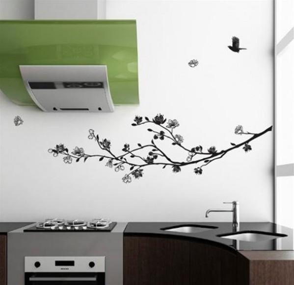Contemporary Home Interior Decoration Gift Ideas Nature Wall Sticker by Zazous Spring Air 590x573 Savremeni detalji za dom