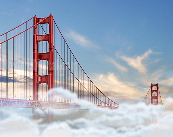Golden Gate Bridge Fog 8001 Najlepši mostovi sveta: The Golden Gate Bridge