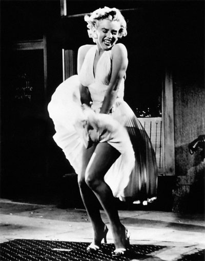 Kultna scena Marilyn Monroe – seks simbol 20. veka
