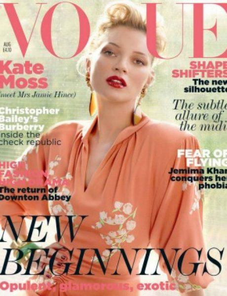 """Kate Moss za """"Vogue UK"""" avgust 2011."""