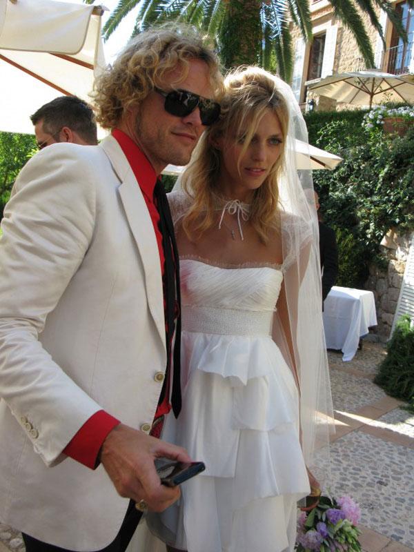 Peter Dundas Anja Rubik wedding Celebrity Wedding: Anja Rubik & Saša Knežević