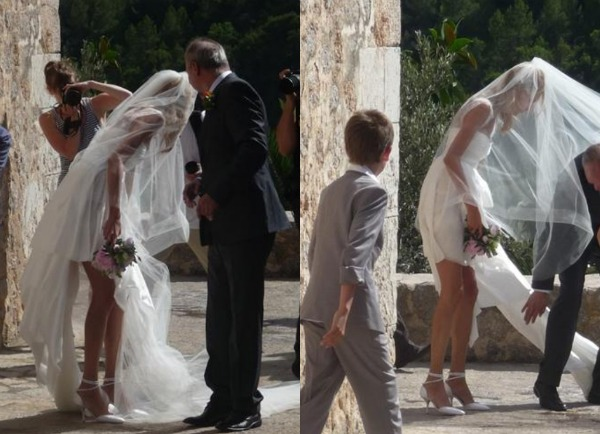 Picnik collage8 Celebrity Wedding: Anja Rubik & Saša Knežević