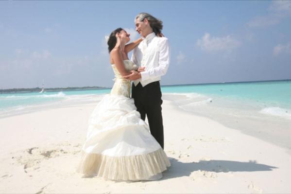 Sandbank Romantične destinacije za medeni mesec