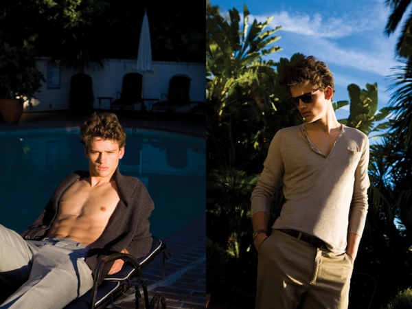 Slika 11 Simon Nessman za Vogue Hommes proleće/leto 2011.
