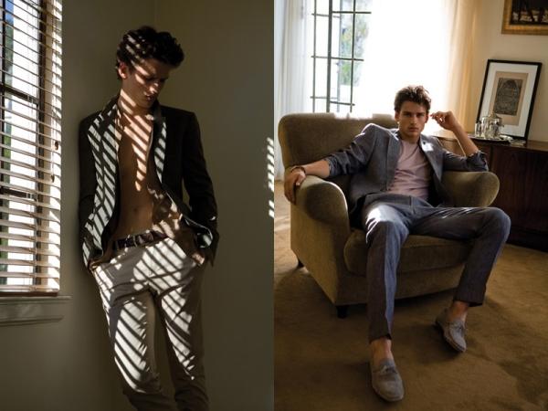 Slika 21 Simon Nessman za Vogue Hommes proleće/leto 2011.