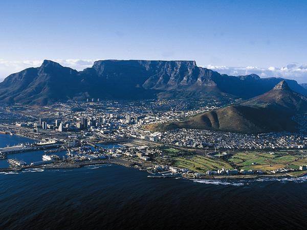 Table Mountain Cape Town Wallpaper Negde preko duge... Nalazi se raj egzotičnih destinacija!