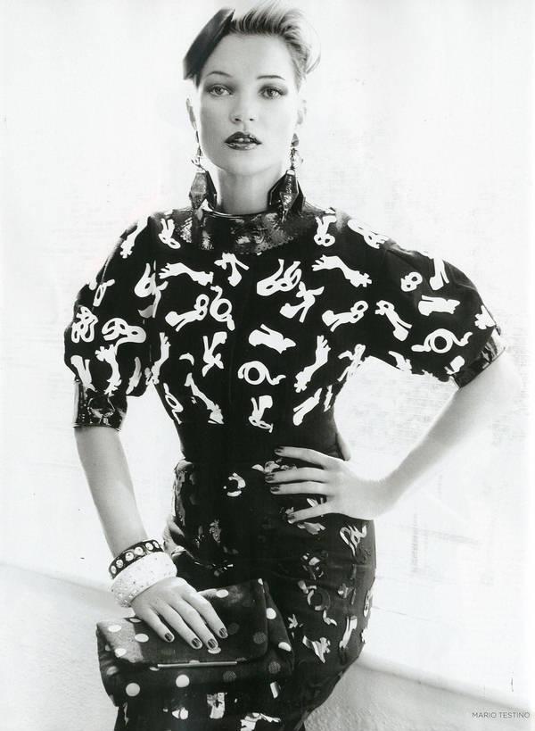 """Vogue Kate Moss 12 Kate Moss za """"Vogue UK"""" avgust 2011."""
