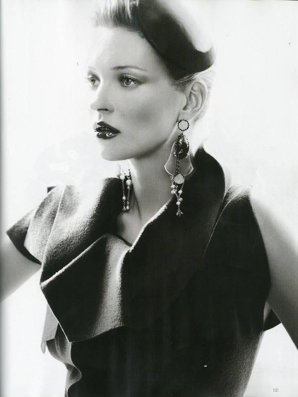 """Vogue Kate Moss 2 Kate Moss za """"Vogue UK"""" avgust 2011."""