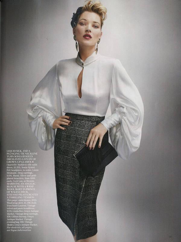"""Vogue Kate Moss 4 Kate Moss za """"Vogue UK"""" avgust 2011."""