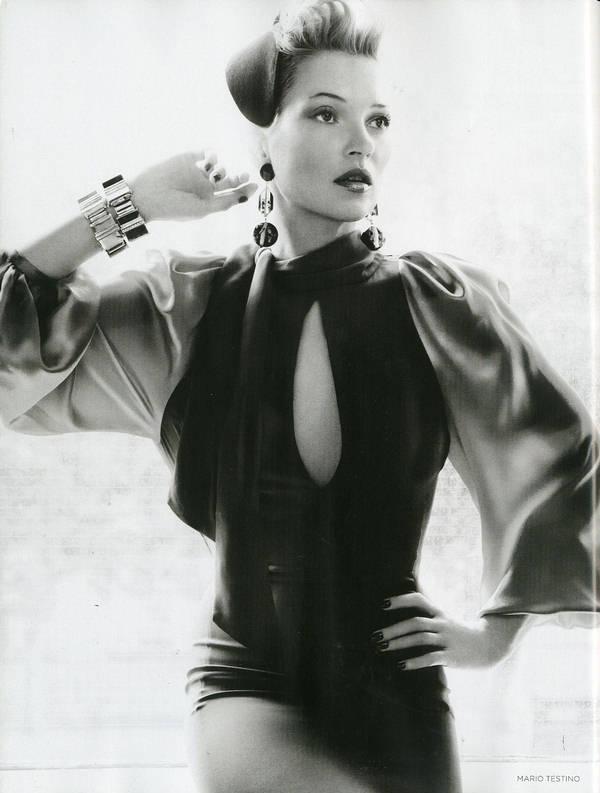 """Vogue Kate Moss 5 Kate Moss za """"Vogue UK"""" avgust 2011."""