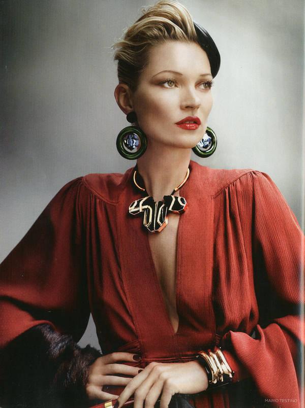 """Vogue Kate Moss 8 Kate Moss za """"Vogue UK"""" avgust 2011."""