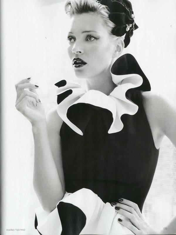 """Vogue Kate Moss 9 Kate Moss za """"Vogue UK"""" avgust 2011."""