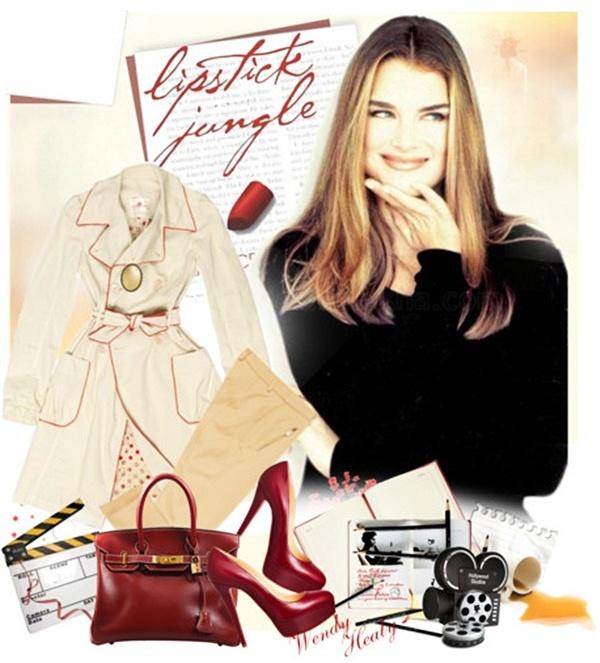 Wendy Lipstick Jungle: stil uspešnih Njujorčanki