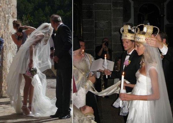 anja rubik bride sasha knezevic groom Celebrity Wedding: Anja Rubik & Saša Knežević