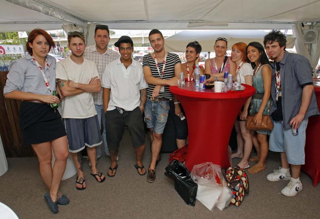 blogeri 542 1024x701 Vip Beach Masters 2011 – Evropsko prvenstvo u odbojci na pesku