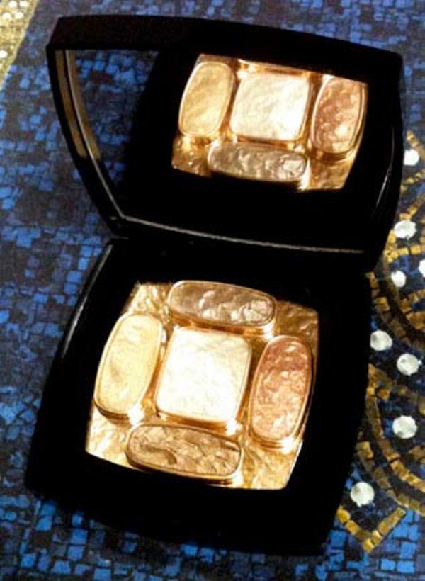 chanel pre fall 2011 les 4 ombres eye shadow quad topkapi Chanel Paris Byzance kolekcija