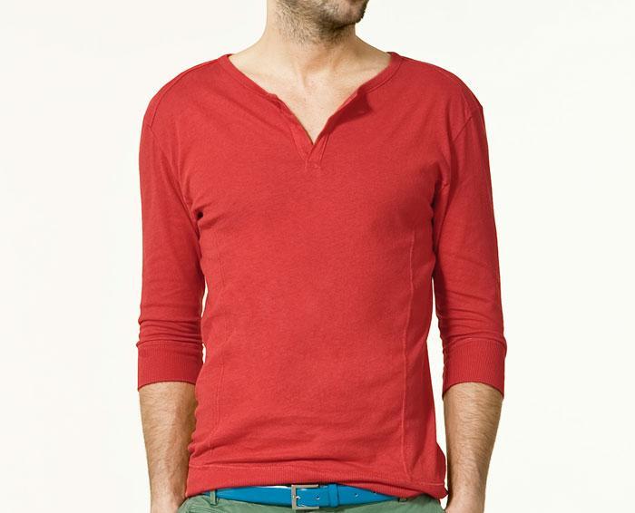 crvena majica Fashion moMENts: Color blocking Show!