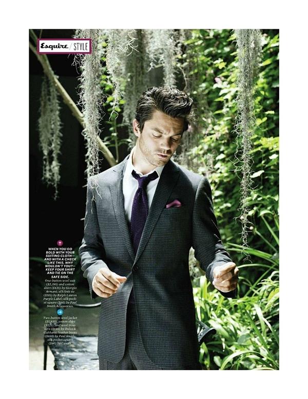 """dominiccooper31 Dominic Cooper za """"Esquire USA"""" avgust 2011."""