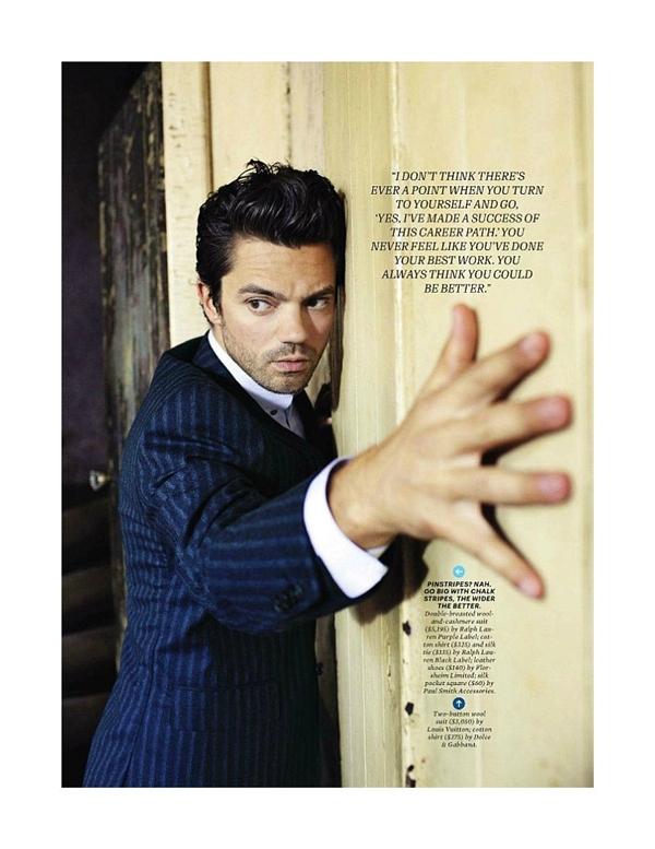 """dominiccooper41 Dominic Cooper za """"Esquire USA"""" avgust 2011."""