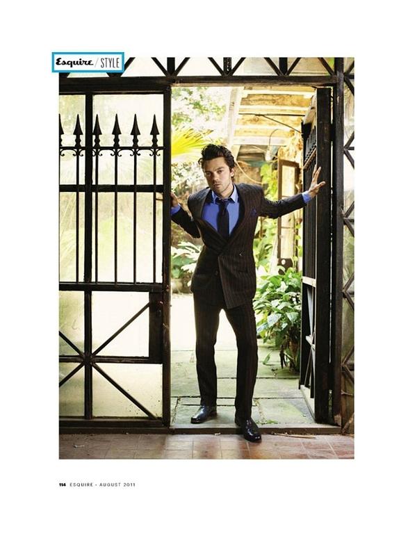 """dominiccooper51 Dominic Cooper za """"Esquire USA"""" avgust 2011."""