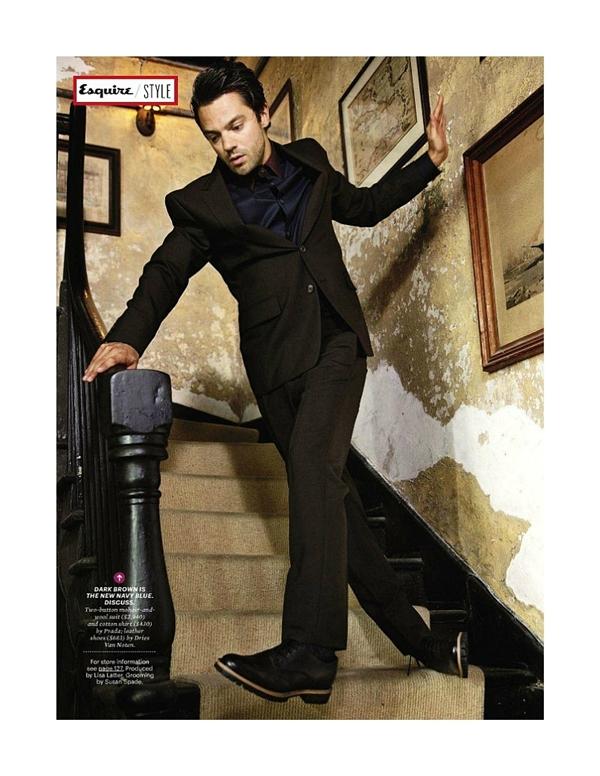 """dominiccooper7 Dominic Cooper za """"Esquire USA"""" avgust 2011."""