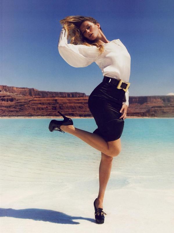 gisele oct vogue Poslovna moda za žene kroz decenije