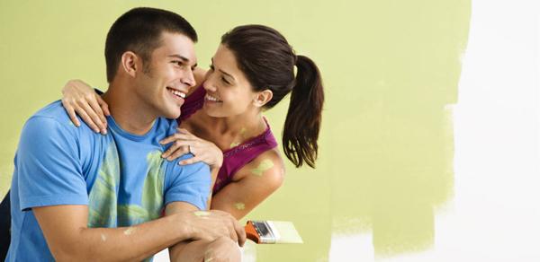 happy couple painting 3b9a0 Majke mi, pozitivan tekst