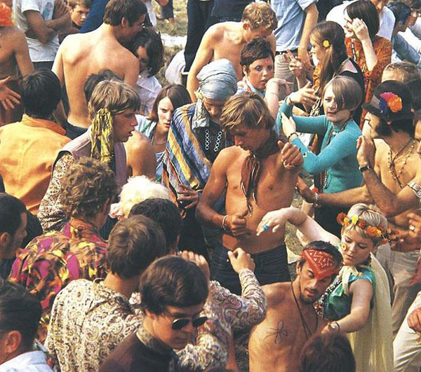 hippies in the sixties Hipi Pokret   uključi se, pokreni se i odbaci pravila