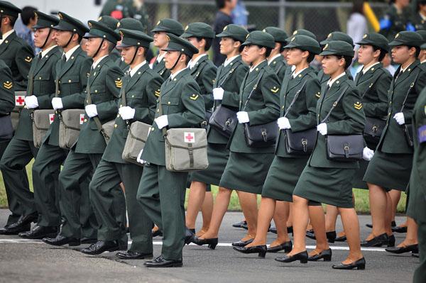 jsdf army medical corps Kratka istorija vojne mode