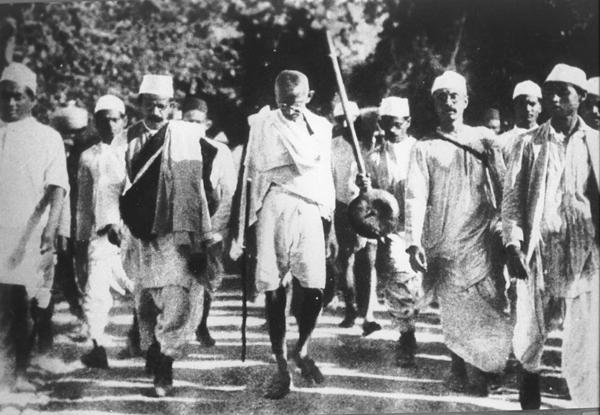 march gandhi Ljudi koji su pomerali granice: Mahatma Gandhi