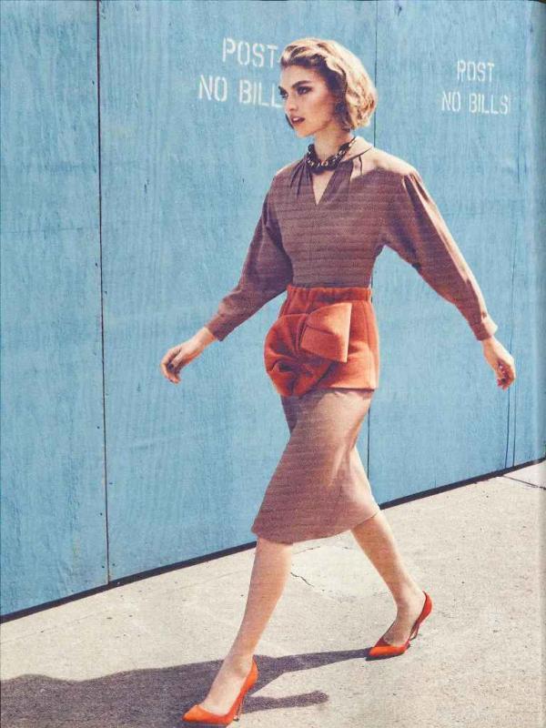 """muse11  Arizona Muse za """"Vogue UK"""" avgust 2011."""
