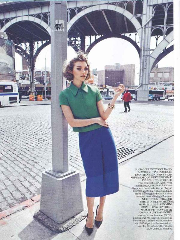 """muse2  Arizona Muse za """"Vogue UK"""" avgust 2011."""