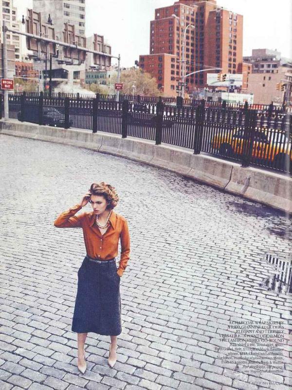 """muse6  Arizona Muse za """"Vogue UK"""" avgust 2011."""