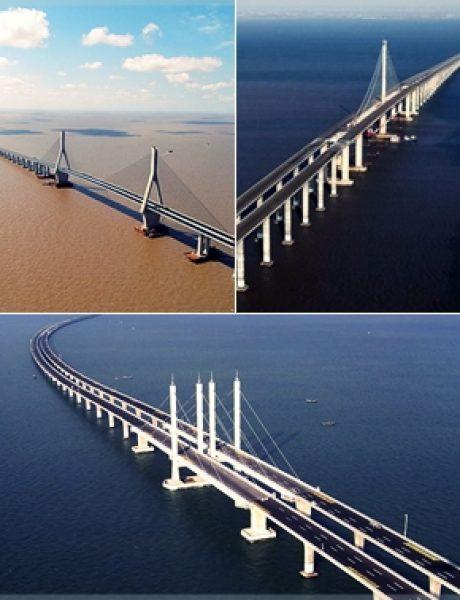 Najlepši mostovi sveta – specijal: Mostovi Donghai, Jiaozhou i Danyang–Kunshan