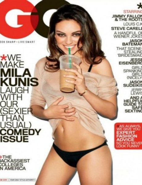 """Mila Kunis za magazin """"GQ"""" – avgust 2011"""