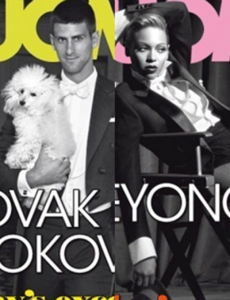 "Beyoncé i Novak Đoković za ""L'Uomo Vogue"""