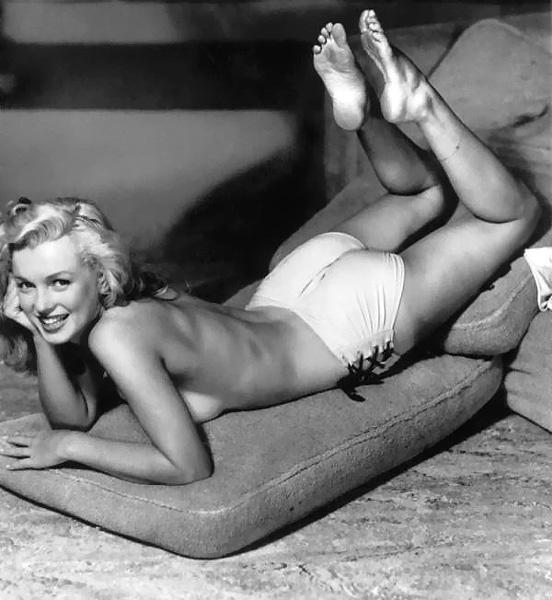 nude Marilyn Monroe – seks simbol 20. veka
