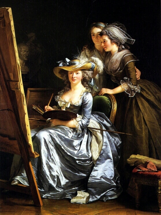 slika1 Autoportret slikarke: samoprezentacija umetnice u XVIII veku