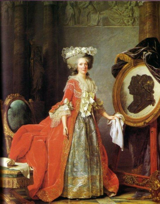 slika2 Autoportret slikarke: samoprezentacija umetnice u XVIII veku