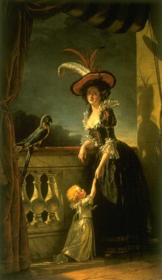 slika4 Autoportret slikarke: samoprezentacija umetnice u XVIII veku