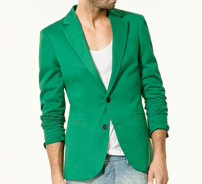 smaragdni sako 1 Fashion moMENts: Color blocking Show!