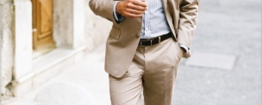 Letnji poslovni autfit za muškarce