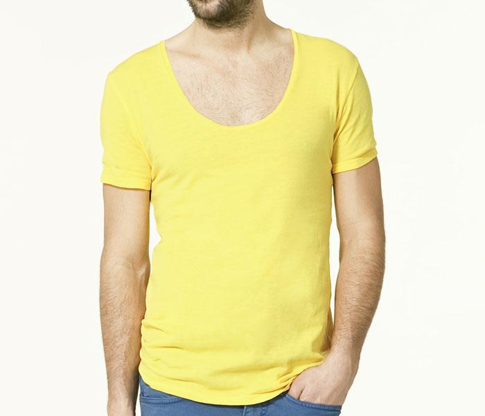 zuta majica Fashion moMENts: Color blocking Show!