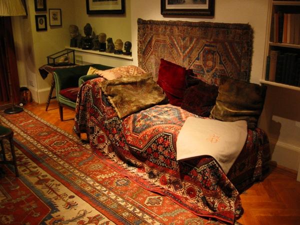 Čuvena Frojdova sofa za terapiju Ljudi koji su pomerali granice: Sigmund Frojd